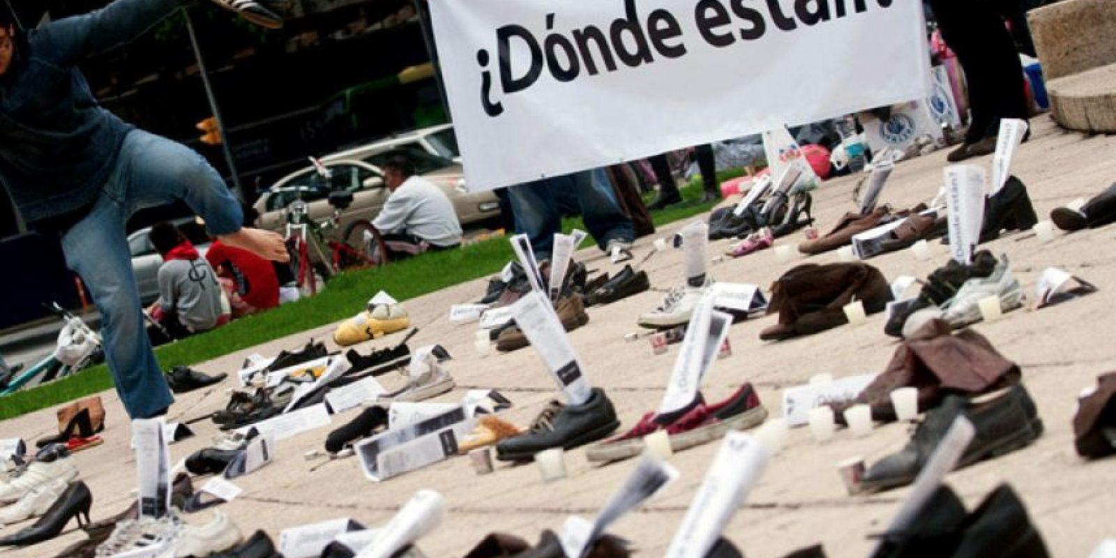 La desaparición de los jóvenes normalistas se dio el 26 de septiembre. Foto:Archivo
