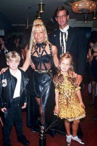 Con sus hijos, en 1992 Foto:Vogue