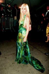 En el 99, para la Gala del MET Foto:Vogue
