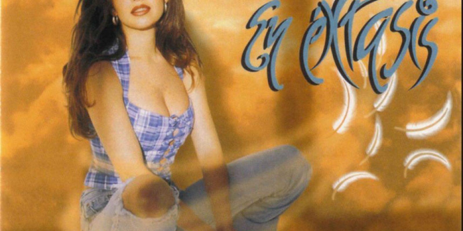 "1995, ""En éxtasis"" Foto:EMI"