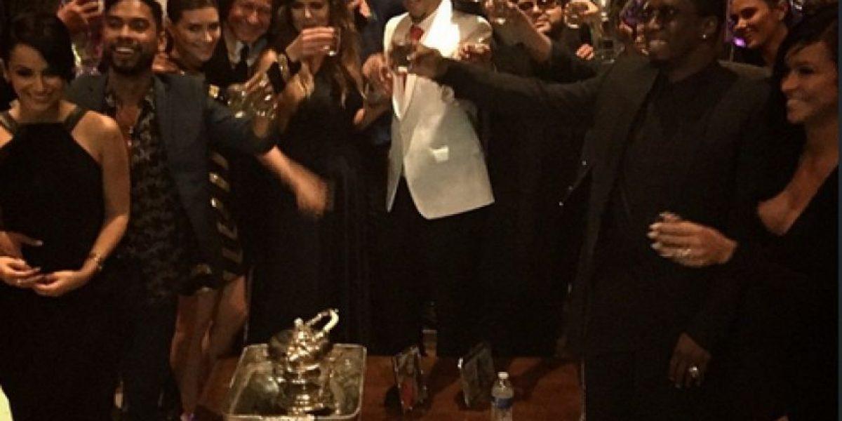 FOTOS: Así fue la fiesta de French Montana con las hermanas Kardashian