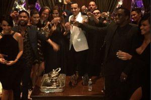 La fiesta se llevó a cabo en Los Ángeles Foto:Instagram @frenchmontana
