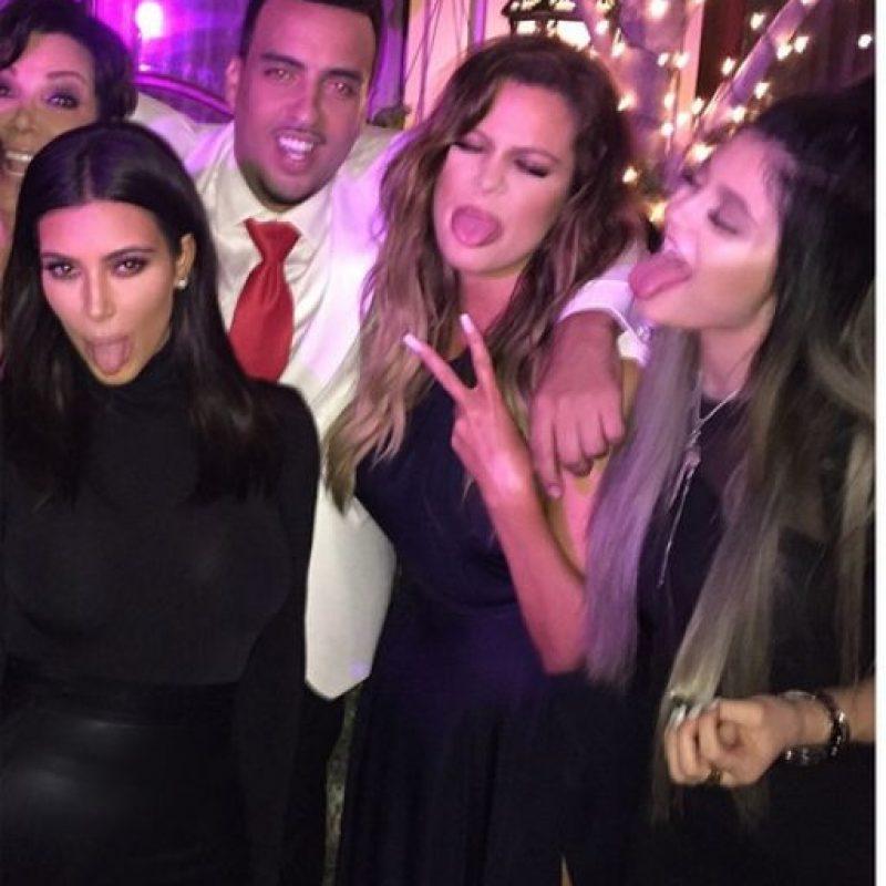 Se la pasaron muy bien Foto:Instagram @kimkardashian