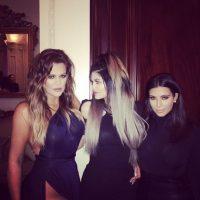 Khloe Kardashian, Kylie Jenner y Kim Kardashian Foto:Instagram @khloekardashian