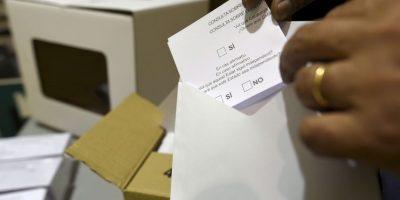 Ese medio aseguró que la situación se dio debido a la falta de un listado de votantes. Foto:AFP