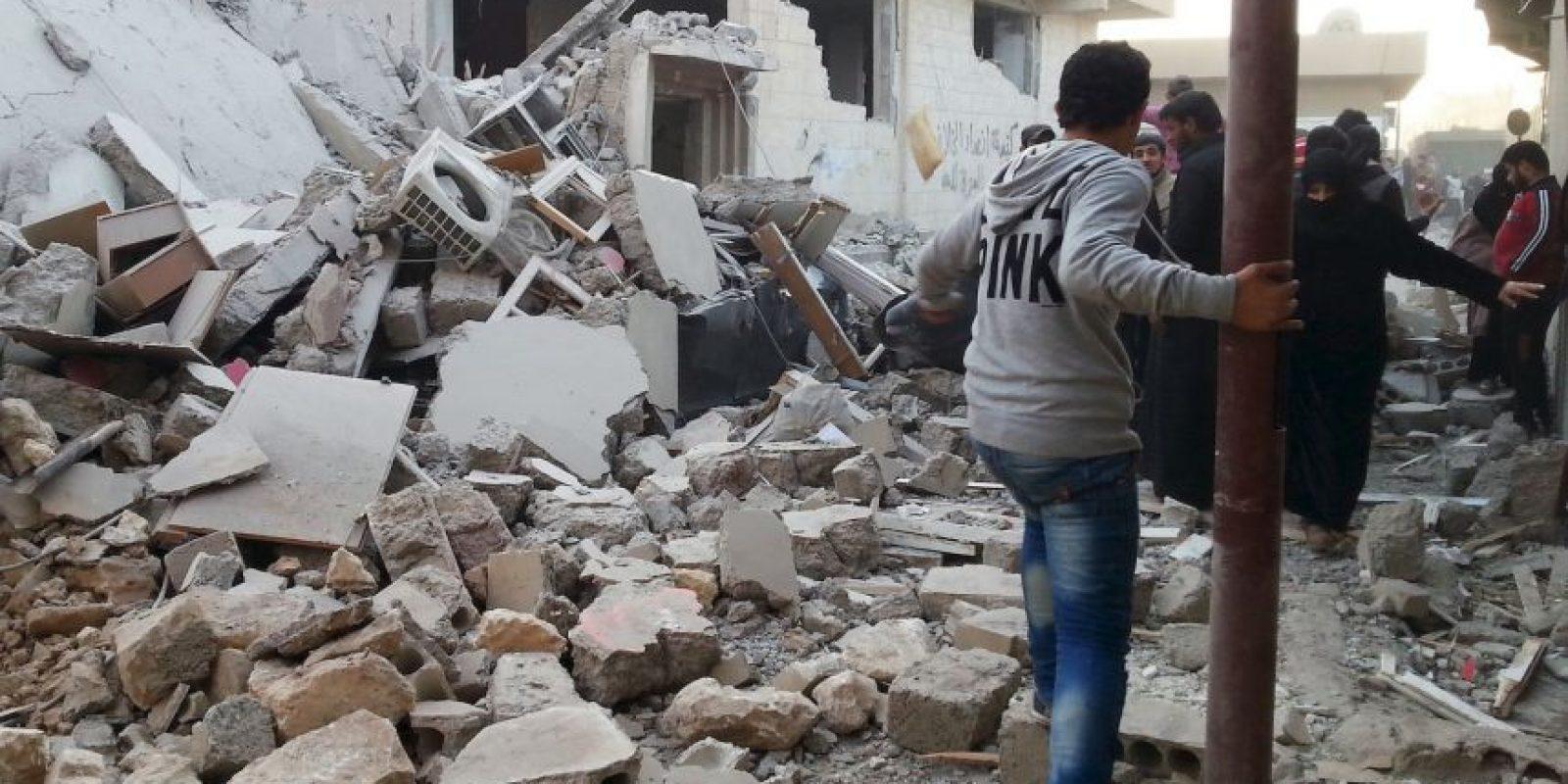 La central de ISIS está en Siria. Foto:AFP