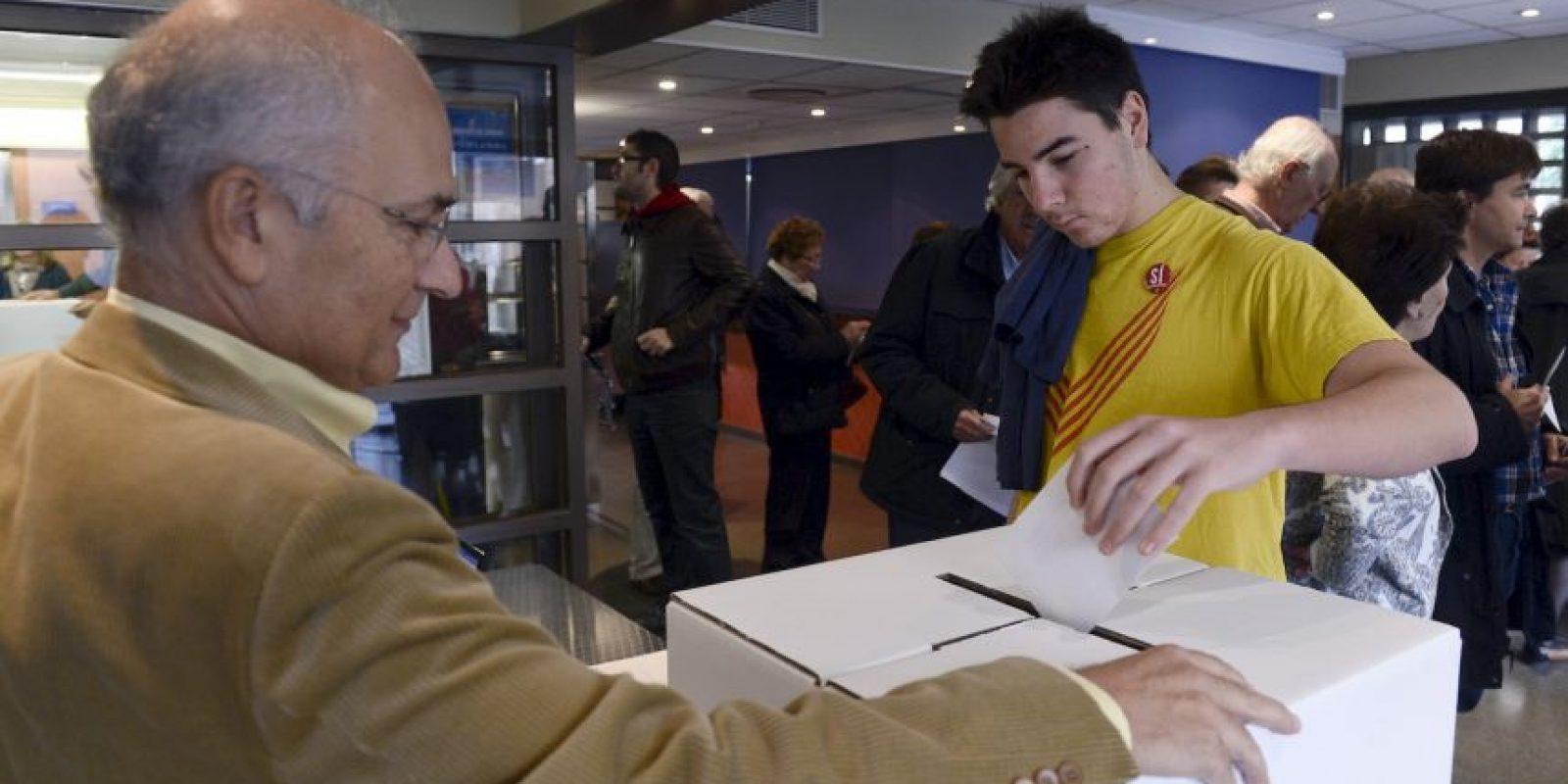 El Gobierno español no dio credibilidad al proceso realizado el pasado domingo. Foto:AFP