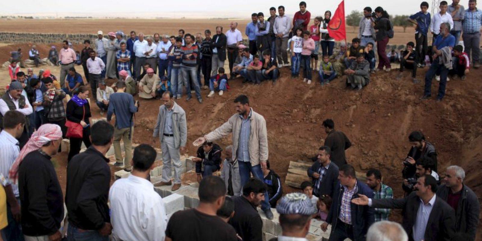 Tras el conflicto miles de refugiados sirios legaron a Turquía. Foto:AFP