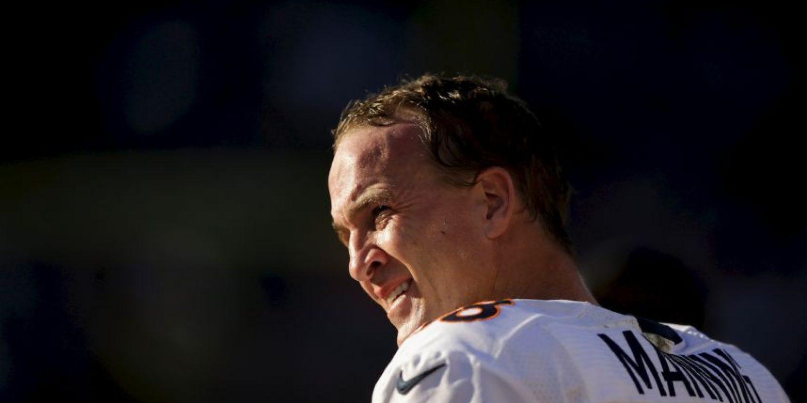 Manning tiene 38 años. Foto:Getty