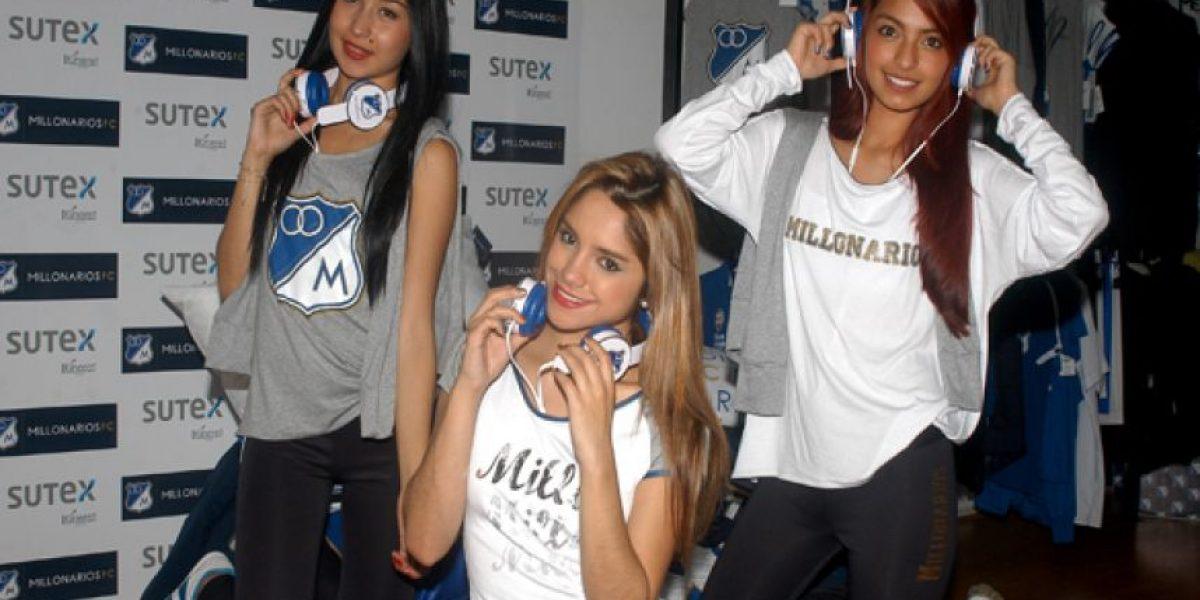 ¡Embajadores de la moda! Millonarios presentó línea femenina de ropa