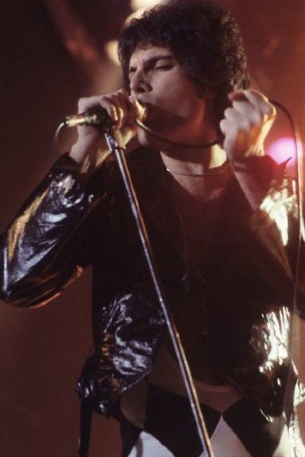 Freddie Mercury, de Queen Foto:Vía Wikipedia
