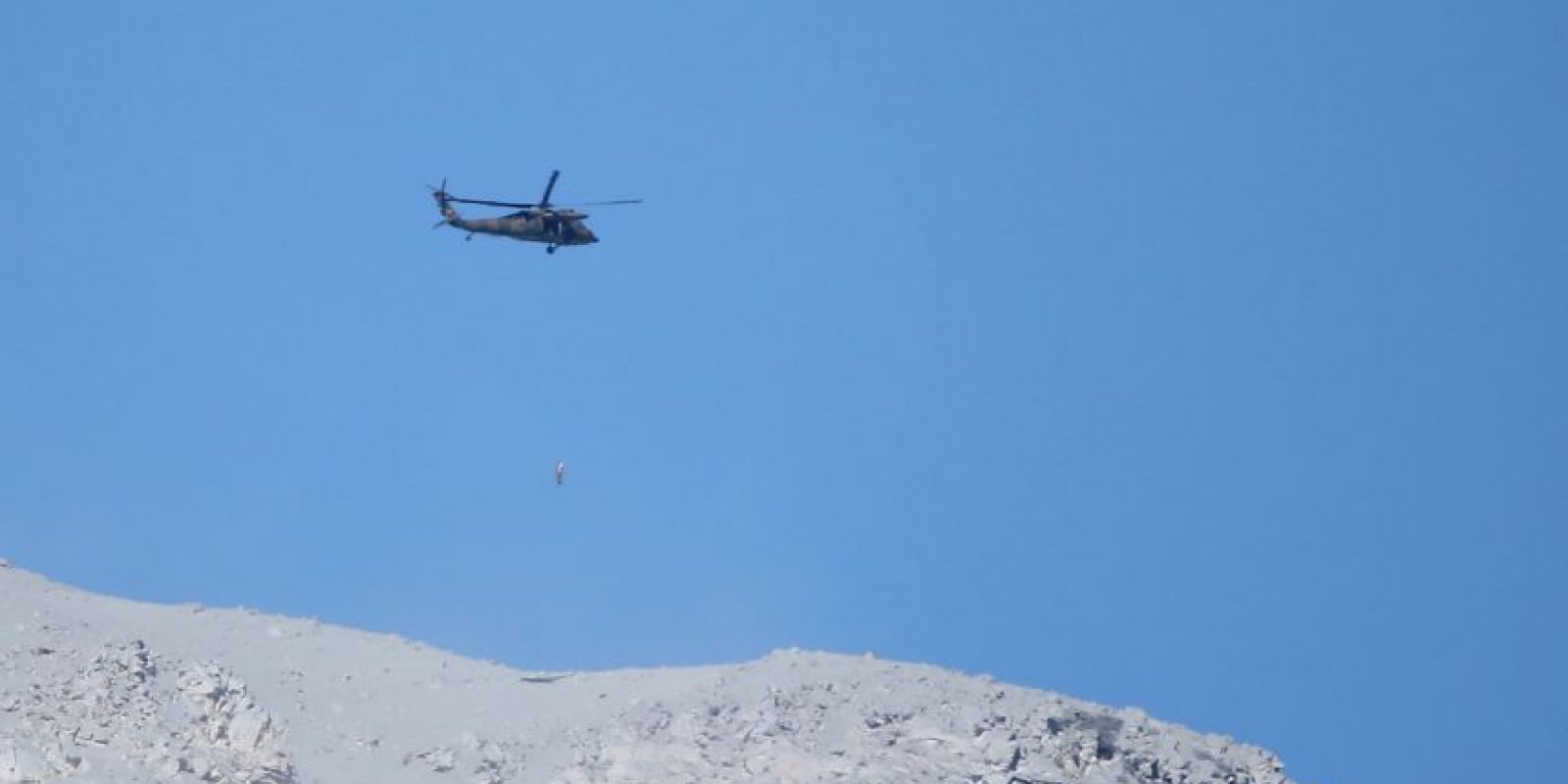 La mayoría de los cuerpos fueron encontrados cerca de la cumbre del Monte Ontake. Foto:Getty