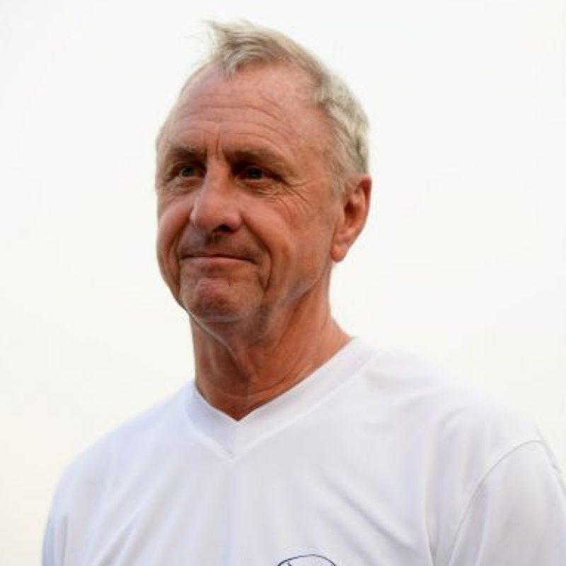 El ex jugador y entrenador holandés Johan Cruyff Foto:Getty