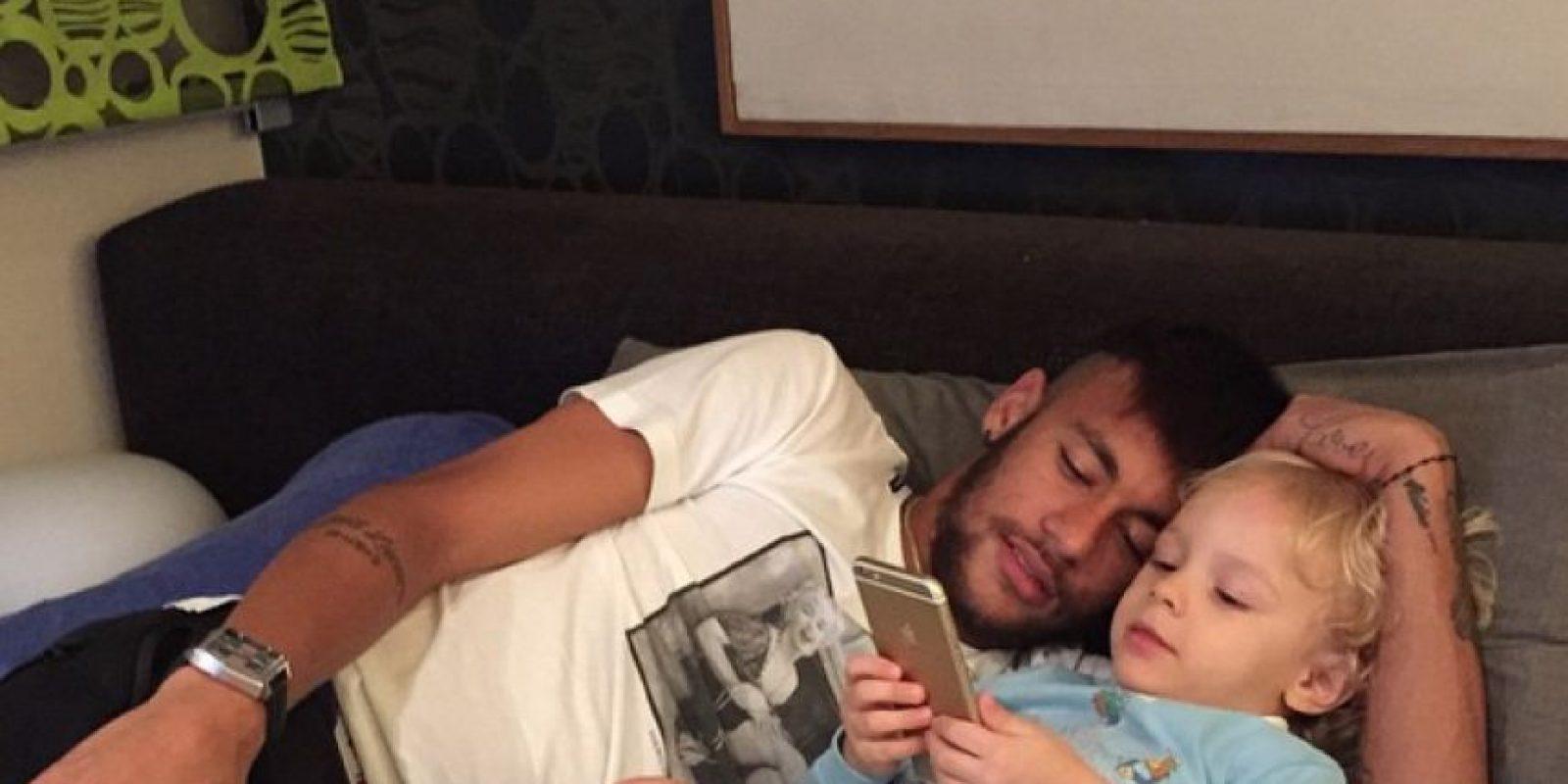 Así se divierte Neymar en sus redes sociales Foto:Instagram: @neymarjr