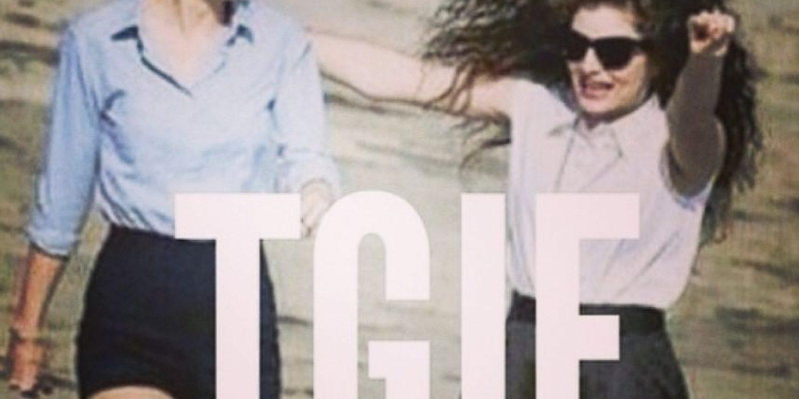 Las dos presumen sus pasatiempos y sus momentos juntas Foto:Taylor Swift vía Instagram