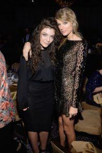 Lorde y Taylor Swift son amigas muy cercanas Foto: Getty
