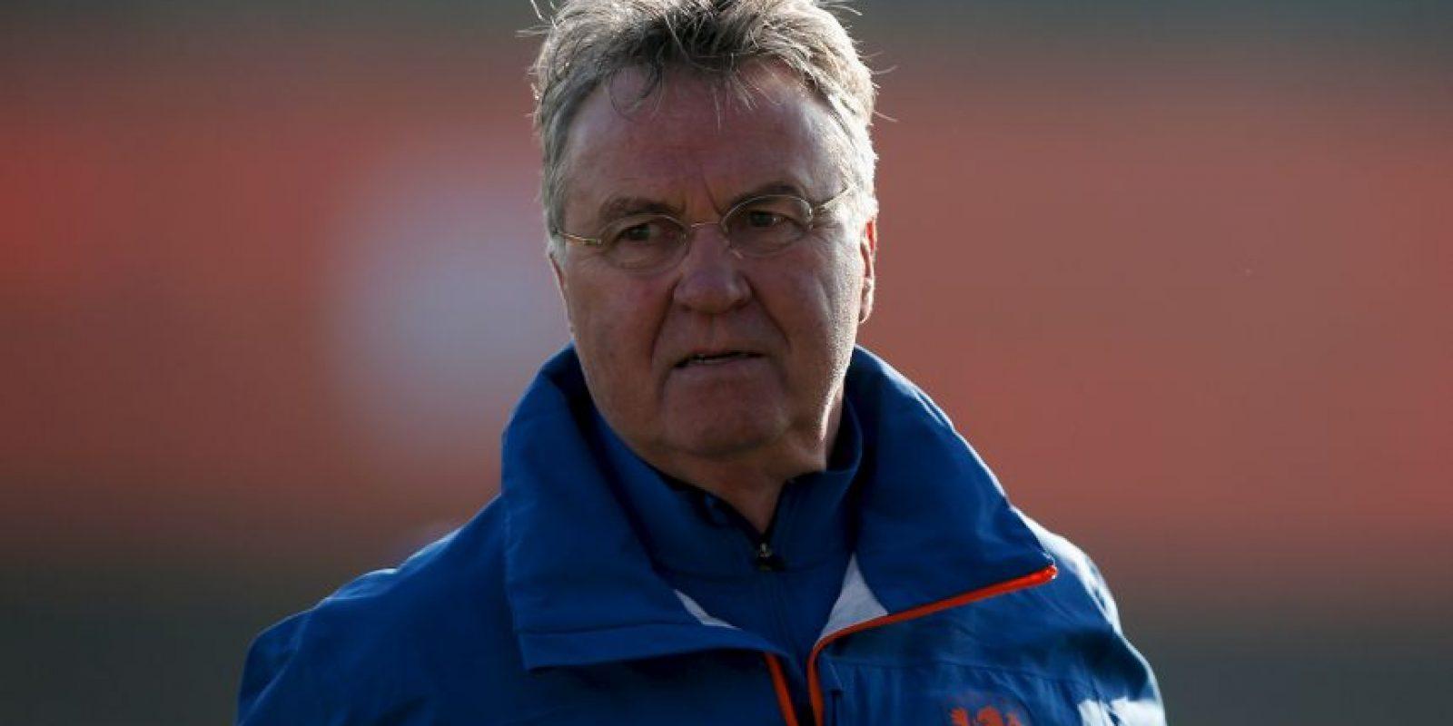 Guus Hiddink, DT de la Selección de Holanda Foto:Getty