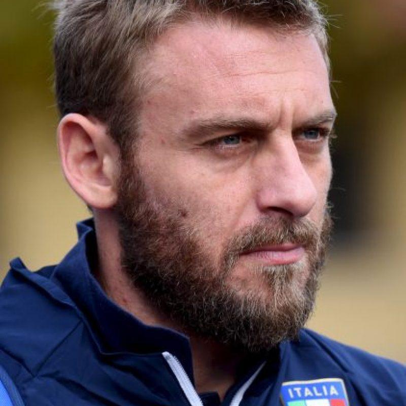 Daniele de Rossi, delantero italiano de la Roma Foto:Getty