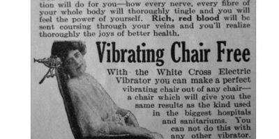 """Este aparato se recomendaba a las mujeres """"histericas"""" usar vibradores para satisfacerlas sexualmente. Los doctores se """"ahorraron"""" el trabajo con esto. Lo curioso es saber cómo funcionaba y si en realidad causaba orgasmos. Foto:Gurl"""