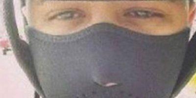 Jadiel, reggaetonero, murió en su moto por este selfie. Foto:Twitter