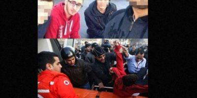 Mohammad al- Chaar se tomó esta foto antes de morir por una explosión de coche-bomba Foto:AFP