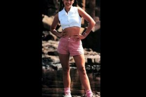 Interpretó a Kimberly Hart, la Power Ranger rosa Foto: Twitter