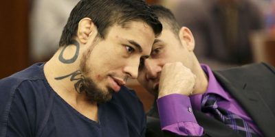 El juez vió la conducta del peleador Foto:AP