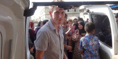 Kassig de desempeñó en Siria como trabajador humanitario. Foto:AP