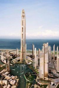 Contaría con 156 elevadores. Foto:Inhabitat