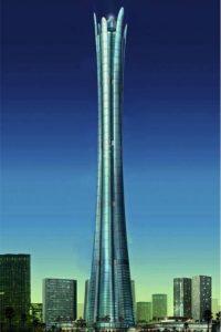 La construcción fue cancelada por problemas con las autoridades aeronáuticas. Foto:Skyscraper City