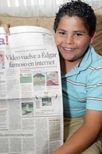 Desde entonces ha protagonizado comercales de TV y ha ganado fama con sus memes Foto:Cheezburger