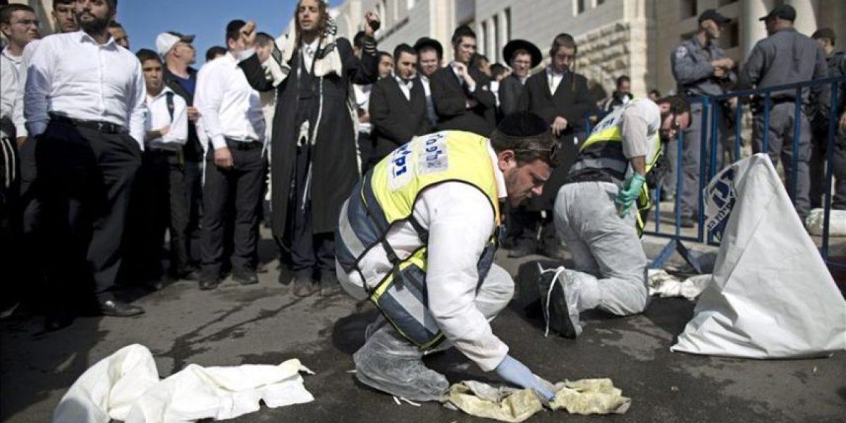 Fallece un policía gravemente herido en el ataque a la sinagoga en Jerusalén