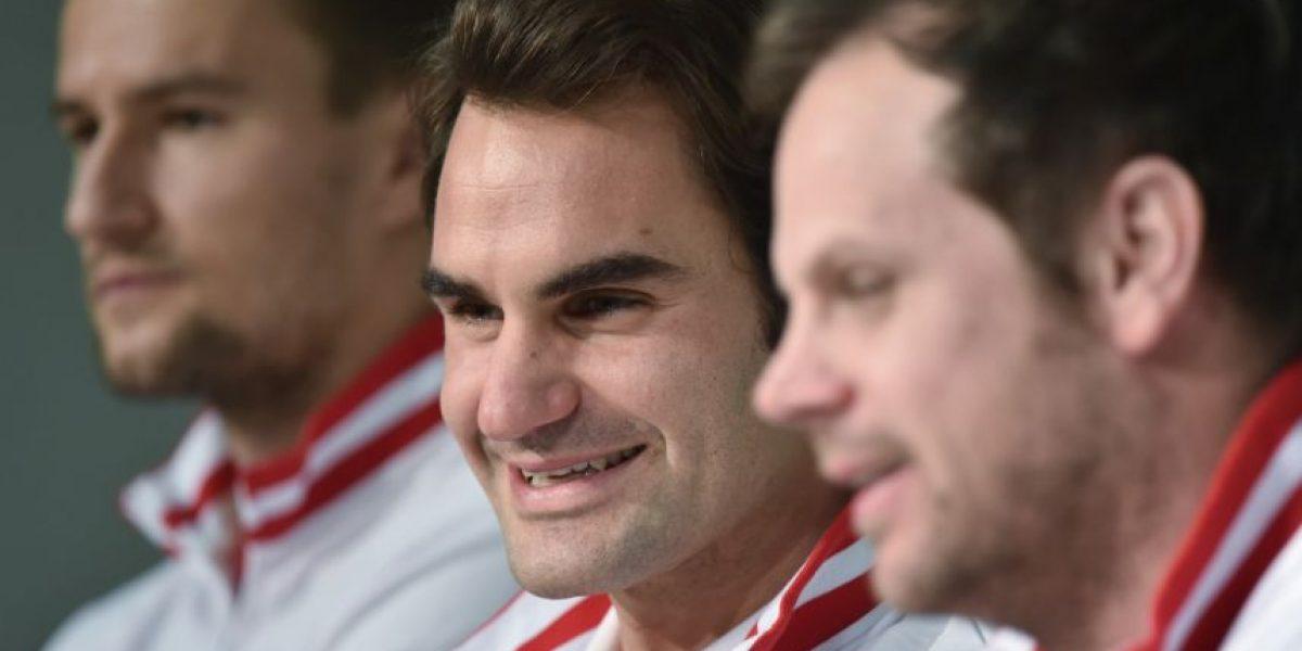 Federer y Wawrinka hablaron de su altercado en Londres
