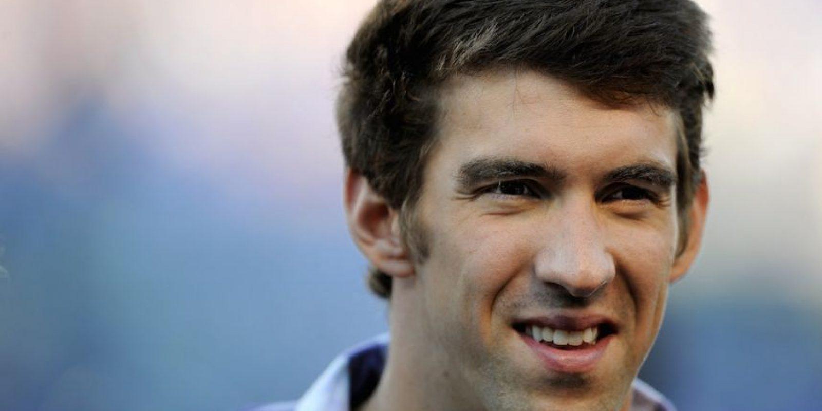 El nadador estadounidense Michael Phelps. Foto:Getty Images