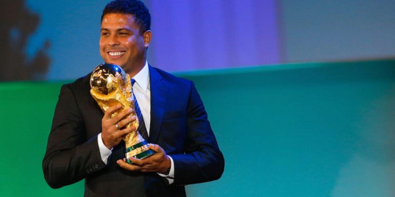Ronaldo, futbolista brasileño. Foto:Getty Images