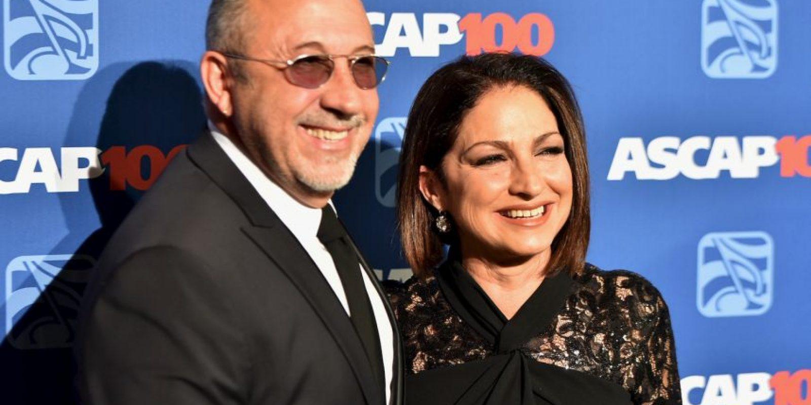 """Emilio y Gloria Estefan han sido nombradas """"Persona del año"""" Foto:Getty Images"""
