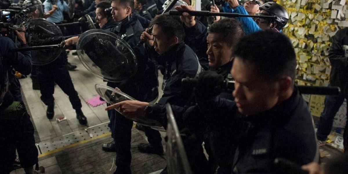 FOTOS: Las imágenes más impactantes de los enfrentamientos en Hong Kong
