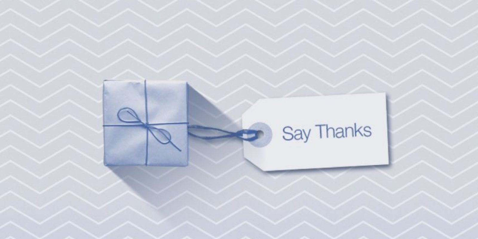 """Facebook los anima """"dar las gracias"""". Foto:Facebook"""