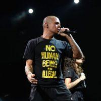 El músico pidió la renuncia del gobierno mexicano Foto:Getty