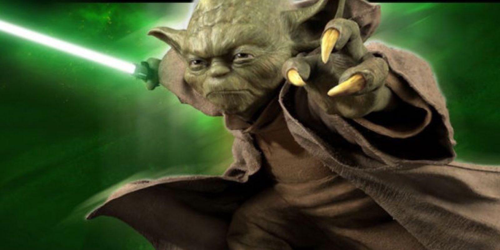 El Maestro Yoda, de Star Wars Foto:Disney