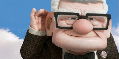 """Carl, de """"Up"""" Foto:Pixar"""