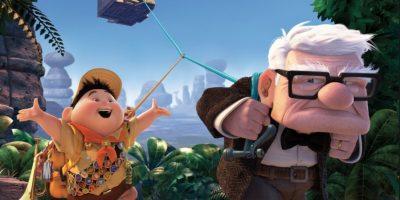 Al final halla en Russell una familia Foto:Pixar