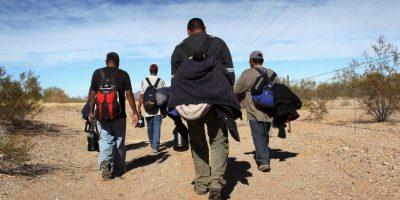 El país latinoamericano con mayor número de peticiones de asilo es Guatemala, con 222. Foto:Getty Images