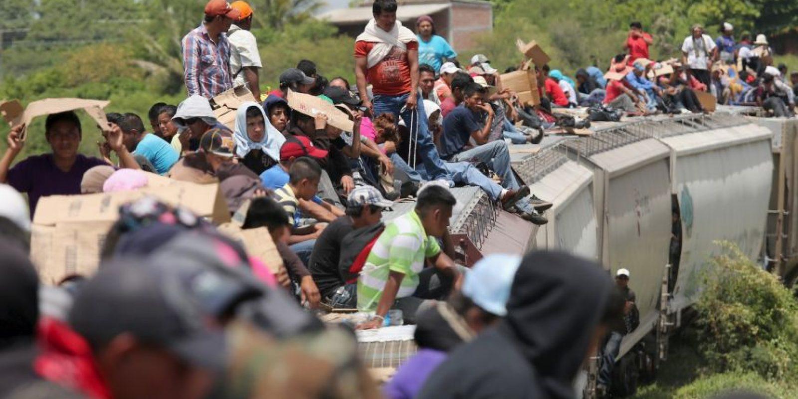 """""""Un 22% de inmigrantes sin autorización para vivir en Estados Unidos llegó al país hace menos de cinco años"""", de acuerdo al Instituto de Política Migratoria Foto:Getty Images"""