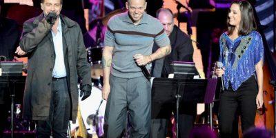 El dúo puertorriqueño Calle 13 Foto:Getty