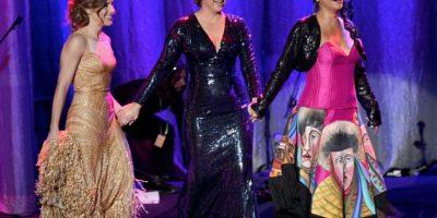 Soledad Pastorutti, Nina Pastori y Lila Downs, cada una con su estilo. Foto:Getty Images