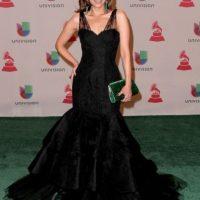 A Lourdes Stephen el vestido la hace ver más ancha Foto:Getty Images