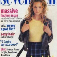1994, a los 10 años Katherine Heigl apareció en los catálogos de Sears, después hizo portadas de revistas para adolescentes Foto:Seventeen