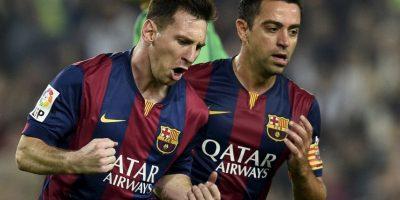 Messi llegaba al partido ante el Sevilla con 250 dianas Foto:AFP