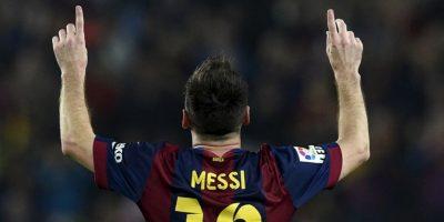 Ayer marco tres goles y se quedó con el récord Foto:AFP
